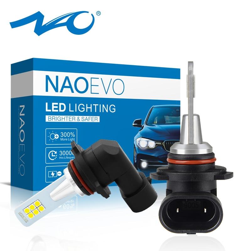 NAO Car-Fog-Light H10 H16 H11 Led Blue H3 9005 9006 Auto-H9 H8 Hb4 12v PSX26W Gold Auto-Accessories