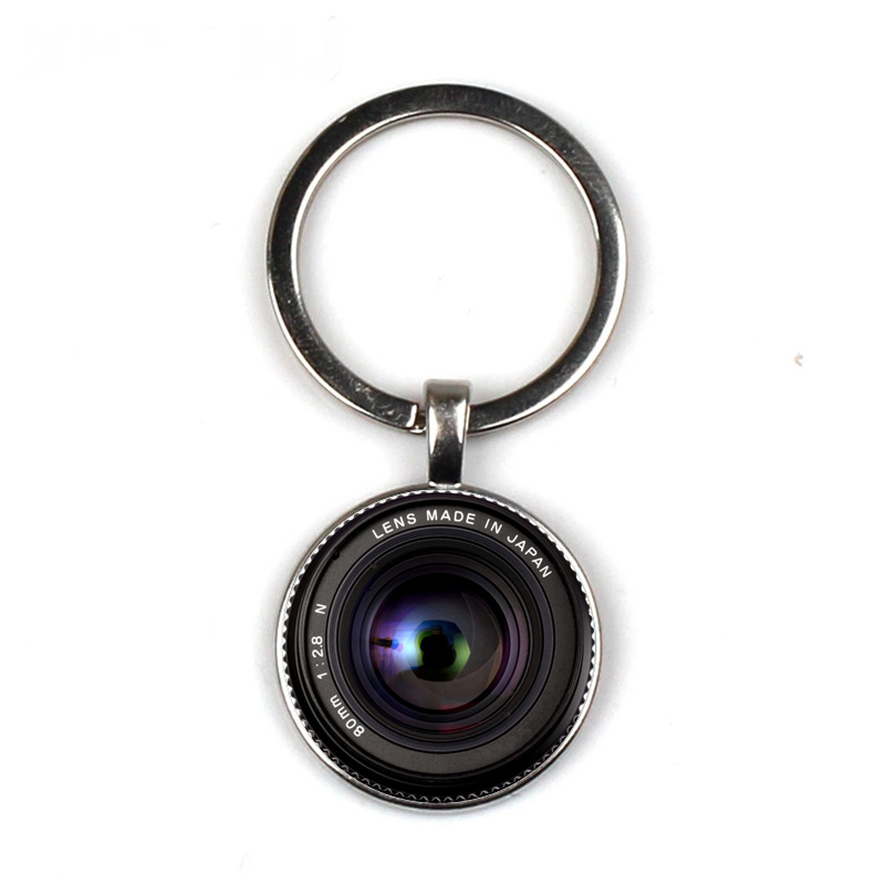 Novelty Lens Keychain Camera Lens Photography Enthusiasts Keychain To Send Friends Gifts Private Custom Keychain