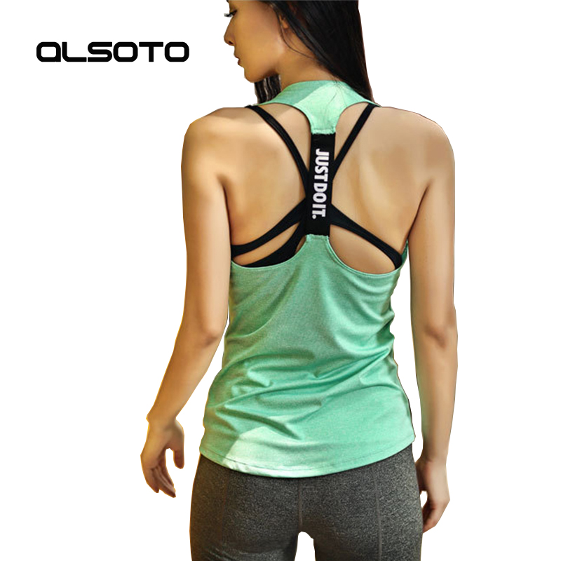 Summer Women Professional Sport Vest Sleeveless Quick Drying Solid Color Loose Running Gym Yoga Shirt Ladies Fitness Tank Top