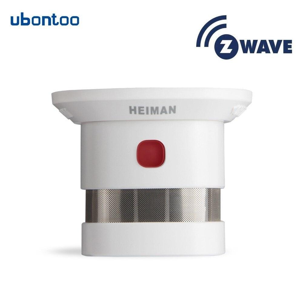 Zwave 868.42MHz wireless smoke detector fire alarm sensor High sensitivity siren 85dB