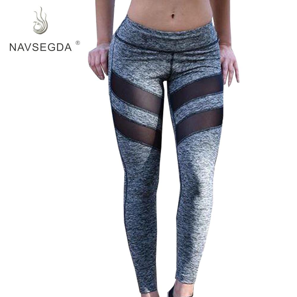 NAVSEGDA 2019 Aerobic Fitness New Yoga Pants Sportswear