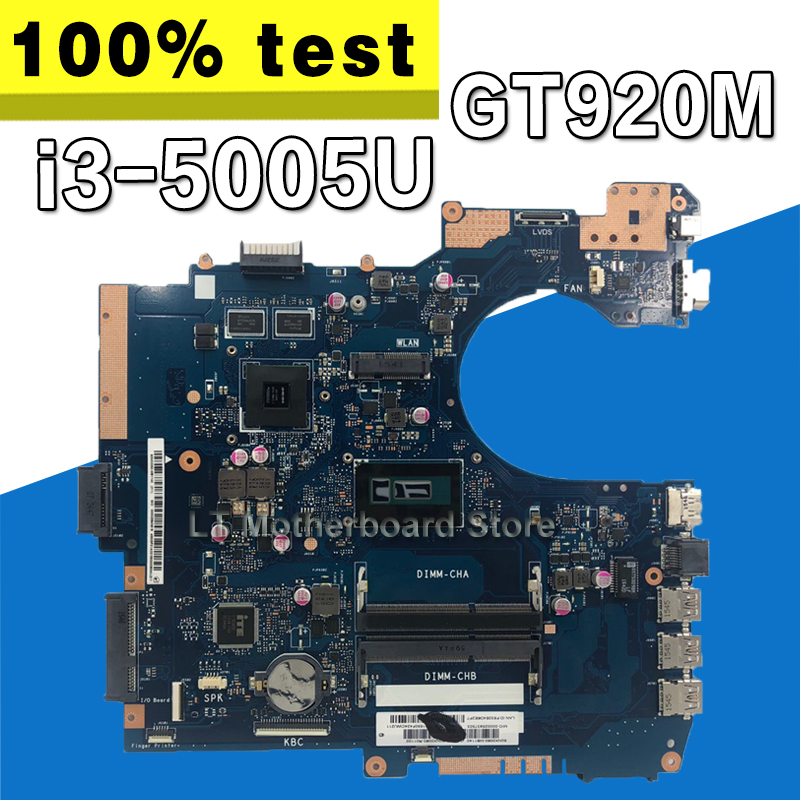 For ASUS P552LA P552LJ Laptop Motherboard With Intel I3-5005U Rev 2.1 Mainboard