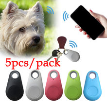 5PCS/lot GPS Tracker Kids Pets Wallet Anti Lost Smart GPS Tracker Finder Locator Car Phone Keys Alarm Locator(China)