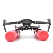 Mavic Iniş takımı Köpük Bacaklar Su Yüzer Yüzdürme iniş kalkış Için DJI mavic 2 pro ve zoom Drone aksesuarları