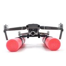 Mavic carrello di Atterraggio atterraggio decollo Schiuma Gambe In Acqua Galleggiante di Galleggiamento Per DJI mavic 2 pro e zoom Drone accessori