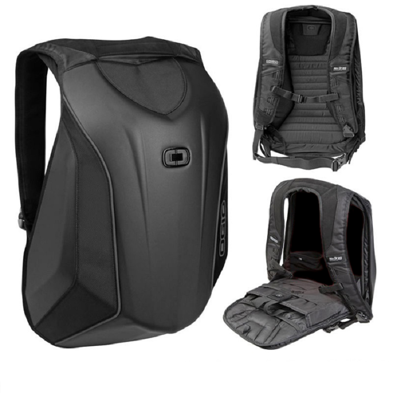 Motorcycle Knight Bag Motocross Riding Racing Storage Bag Carbon Fiber Motorbike Helmet Backpack