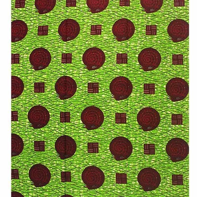 Tessuto africano Olandese cera 6yards Cotone Vero E Proprio Tessuto Cera Reale Olandese di Alta Qualità Reale olandese Cera Olandese