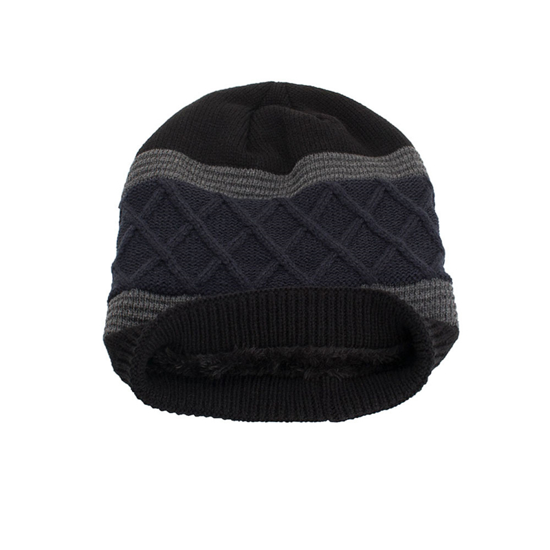 7730287cd18 ... Men s Winter Hat Caps Skullies Bonnet Winter Hats For Men Women Beanie  Warm Baggy Outdoor Sports Hat Fleece · image. additional image. additional  image
