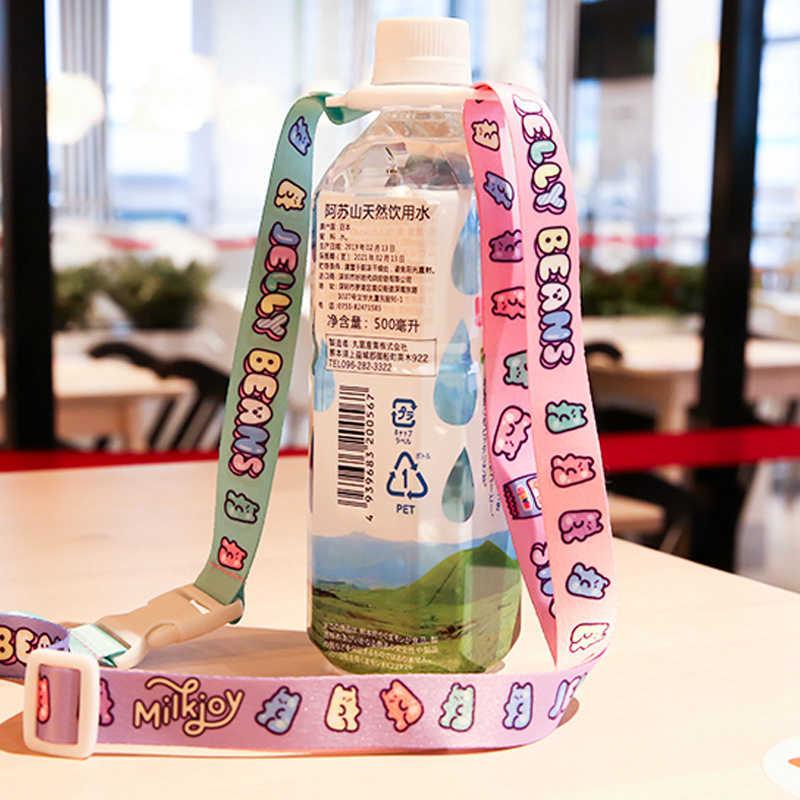 Reizen Accessorie Vrouw Cartoon Water Fles Gesp Koffer Bagage Tas Draagbare Mineraalwater Carrye Band Organizer Beveiliging