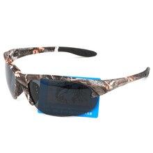 Мода 2017 г. камуфляж поляризованные Солнцезащитные очки для женщин Для мужчин Брендовая дизайнерская обувь для вождения UV400 Защита от солнца Очки Военное Дело Стиль Óculos 2219