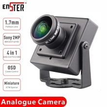 ENSTER Miniature TVI CVI CVBS AHD 4 in 1 Analogue Camera SONY IMX323 1080P 1.7mm