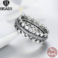 Sparkling 925 Sterling Silver Starshine Star Finger Ring Clear Cubic Zircon Original Luxury Fine Jewelry For