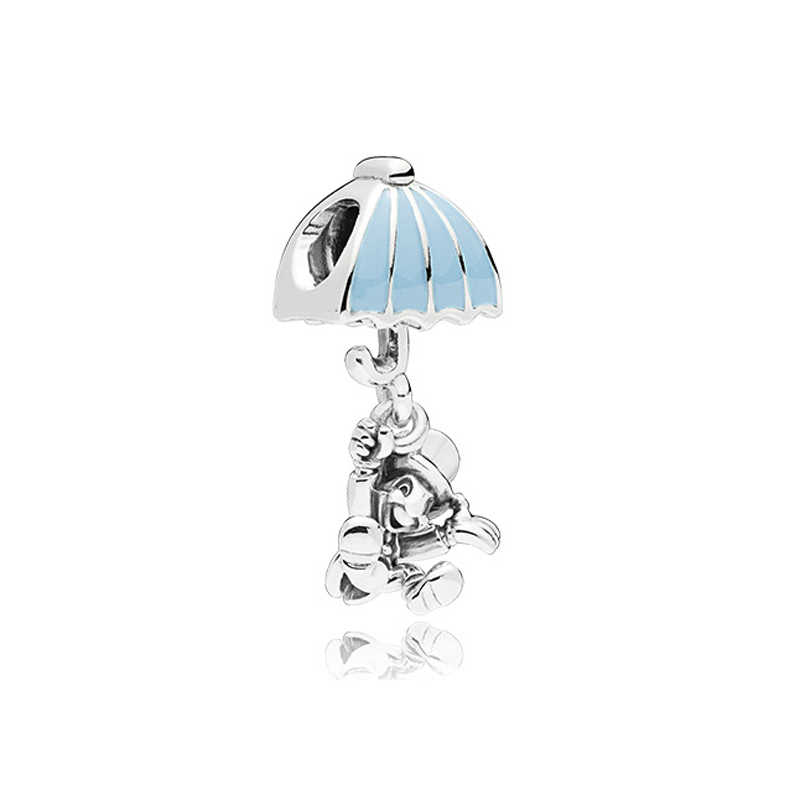 2019 Yeni Orijinal Gümüş Kaplama Charm Fit Pandora Bilezikler Diy Güzel Kuş Anne Kalp Dangle Charms Boncuk Kadınlar Takı