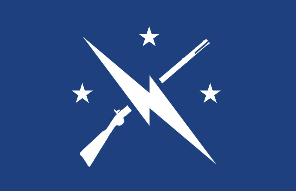 90*150 CM Fallout Commonwealth Minutemen ธงสำหรับตกแต่ง
