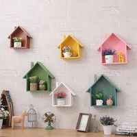 Nordic Style Wooden White Small House Kids Room Decoration Scandinavian Style Girls Room Decor Nordic Decoration For Kids Room