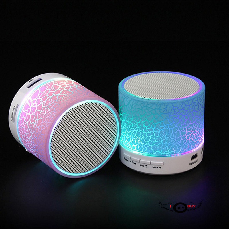 Cheapest Mini Bluetooth Speaker I Key Buy Car Music Center Portable Speaker For Phone Computer 5V (Pink) image