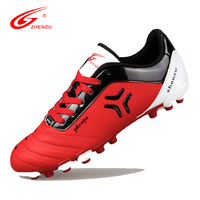 62ec09d3452 ZHENZU New Arrival 2016 Men Teenagers Football Shoes AG Artificial Ground  Soccer Boots Professional Sports Shoes