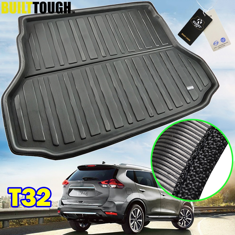 For Nissan X-Trail Rogue XTrail T32 2014 - 2019 Rear Boot Liner Trunk Cargo Mat Tray Floor Carpet Protector 2015 2016 2017 2018