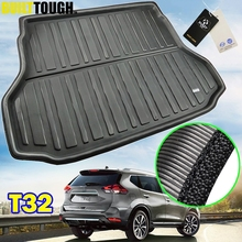 For Nissan X Trail Rogue XTrail T32 2014   2019 Rear Boot Liner Trunk Cargo Mat Tray Floor Carpet Protector 2015 2016 2017 2018
