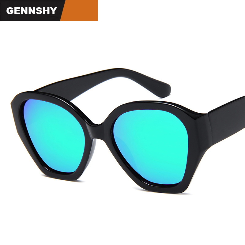 2018 Fashion Sunglasses Ocean Lenses Men Women Vintage Brand Design Big Frame Sunglasss Driving Traveling Eyewewar Mirror Lenses ...
