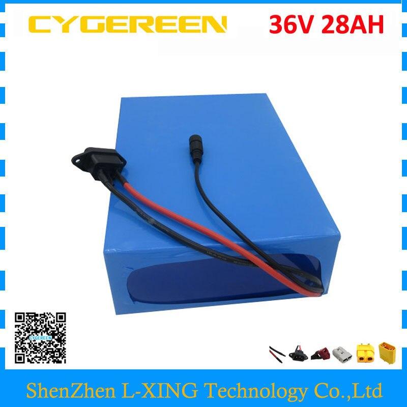 O direito aduaneiro 1500 W bateria 1500 W 36 36 V 28AH V 28AH usar 3500 mah bateria de lítio 35E 50A celular Carregador BMS com 5A