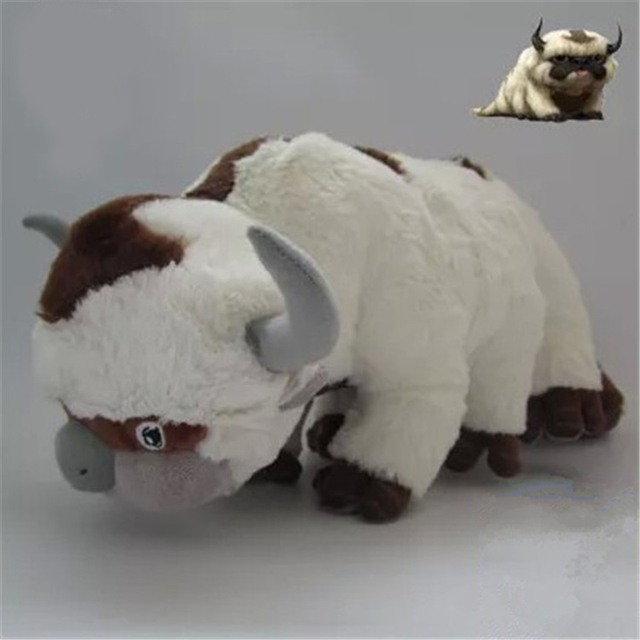 Avatar The Last Airbender Appa Plush Toys TV Series Plush Appa Avatar Stuffed Cartoon Soft Plush Toys As Gift For Children