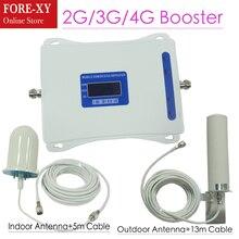 Smart DUAL BAND 2 г 3g 4 г сотовый телефон усилитель сигнала 900/1800/2100 мГц мобильный ретранслятор сигнала усилитель сигнала сотовой комплект