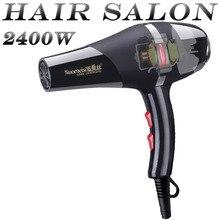 2.3 veya 3 metre uzun tel yüksek kaliteli Pro profesyonel saç kurutma makinesi saç Salon hızlı şekillendirici fön makinesi uzun ömürlü AC Motor