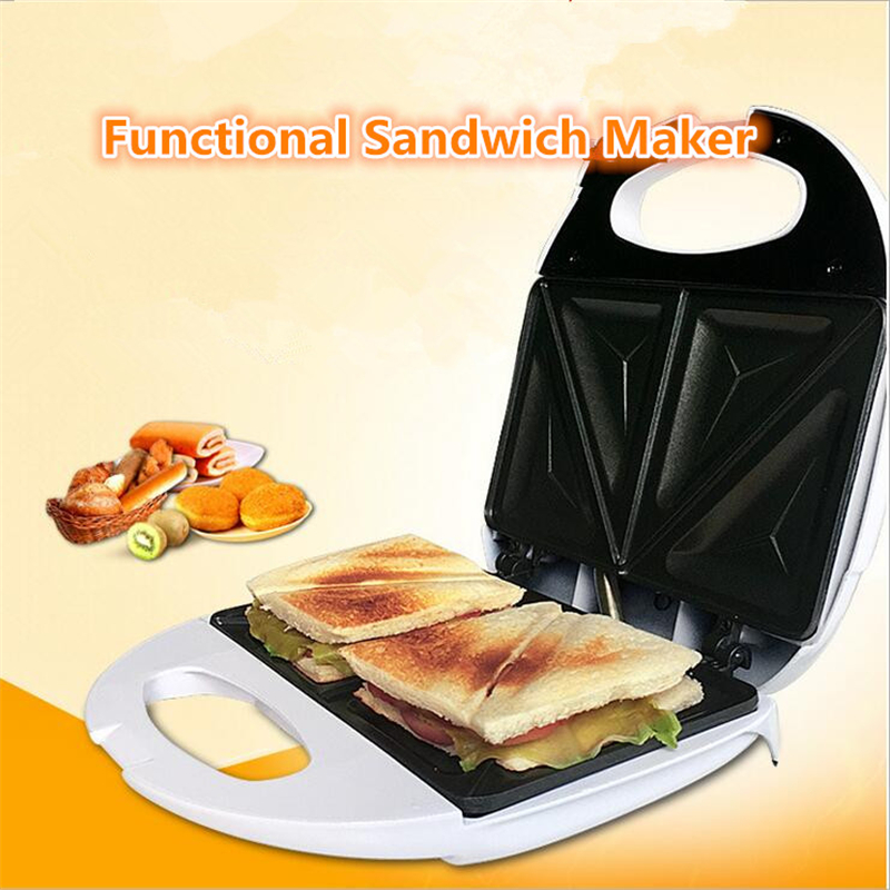 Electric Sandwich Makers : Mini multifunction automatic toaster breakfast machine non