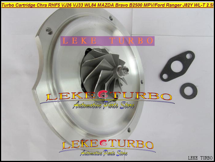 Turbo Cartridge CHRA Core RHF5 VJ26 VJ33 WL84 VC430089 Turbocharger For FORD Ranger For MAZDA Bravo B2500 MPV J82Y WL-T 2.5L