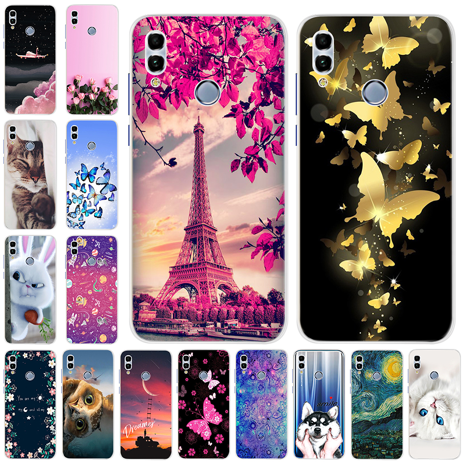 Izyeky Case For Huawei P Smart 2019 Soft Tpu Silicone Phone Case For Huawei P Smart 2019 Pot-lx1 6.21inch Cover Coque Available In Various Designs And Specifications For Your Selection Phone Bags & Cases