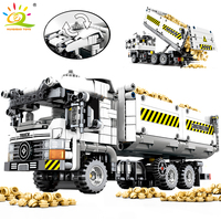799Pcs Technic Engineering Truck Building Blocks compatible Legoingly Technic Vehicle Car Bricks Educational DIY Toys Children