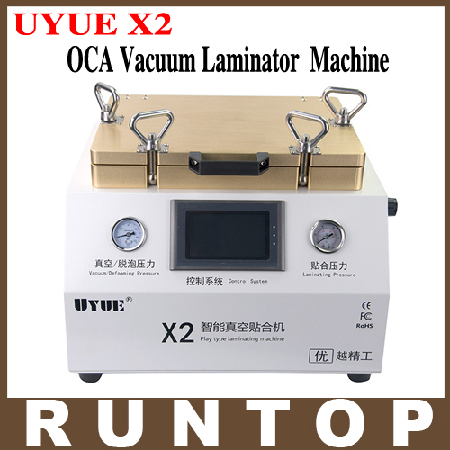UYUE X2 12 Inch OCA Vacuum Laminating  Debubblers Machine Integrated 2 in 1 touch screen repair machine 2 5 sata to ide hdd caddy for dell d500 d600 inspiron 300m 500m more