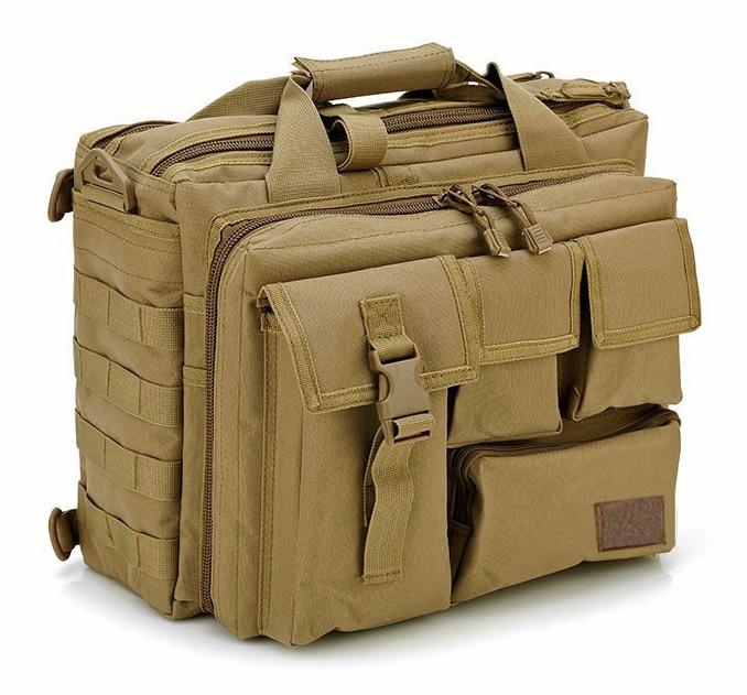 Fashion Nylon Men's Briefcase Tote 15.6