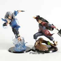 Naruto Shippuden Hokage Senju Hashirama/Tobirama PVC Figur Spielzeug Sammeln Modell