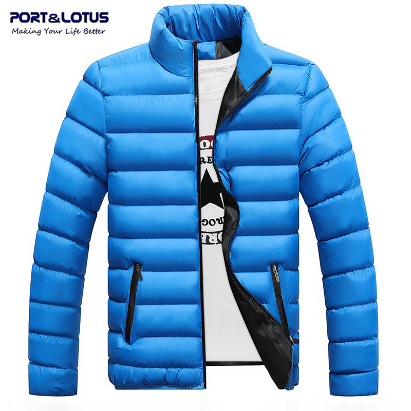 Port Lotus Brand Clothing Winter Parka Men Coat Jacket For Men Slim Thick Warm Men s