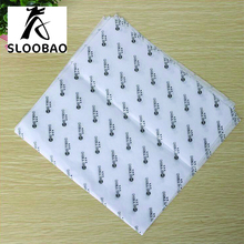 Free shipping Custom print quality brand logo printed gift garment shoes tissue wrapping paper embalagem