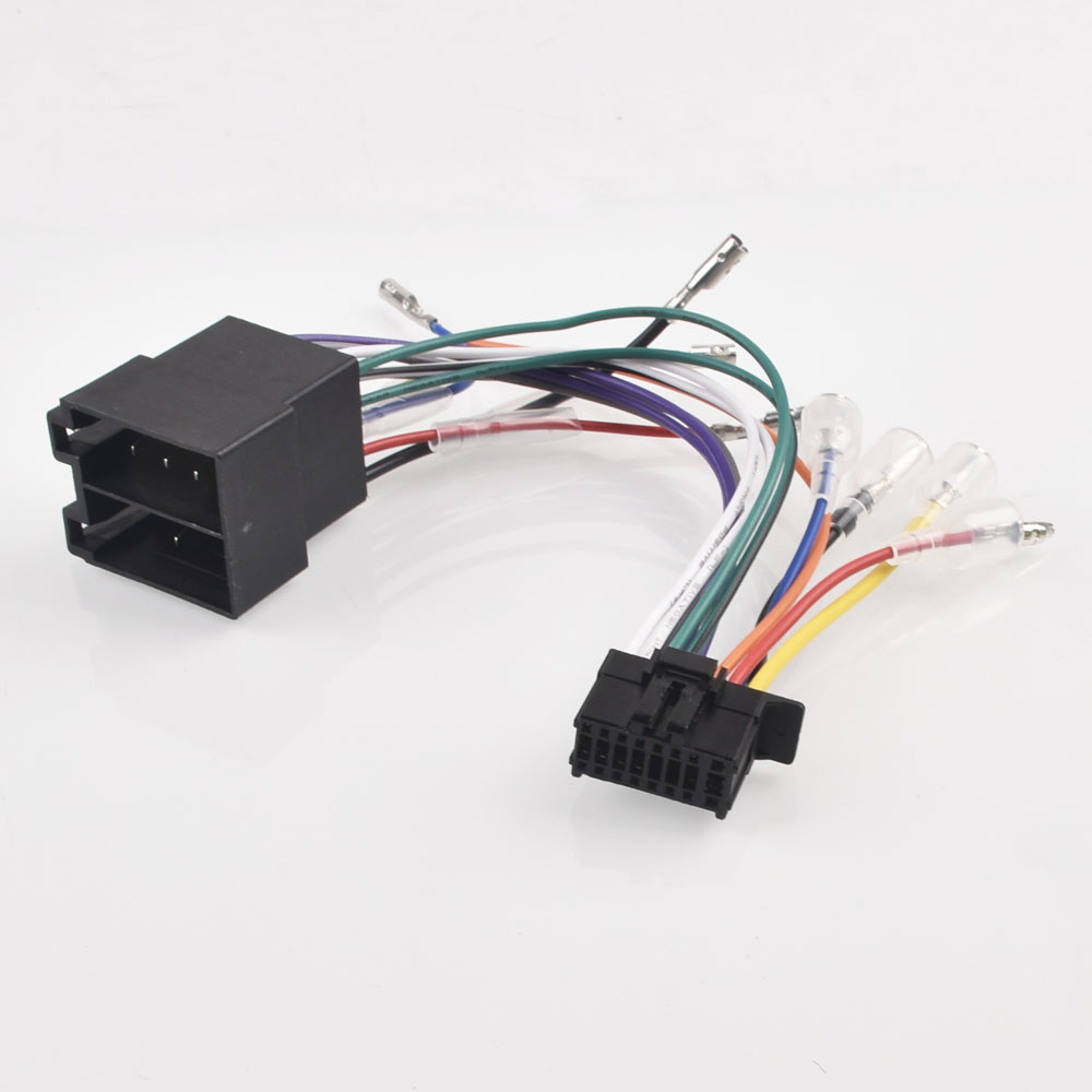 Awe Inspiring Detail Feedback Questions About Car Radio Harness Wire 16Pin Plug Wiring 101 Photwellnesstrialsorg