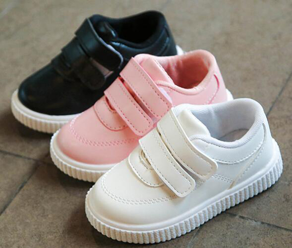 HTB1Z5LcowaTBuNjSszfq6xgfpXaw - kids sneakers boys shoes girls trainers Children leather shoes white black school shoes pink casual shoe flexible sole fashion