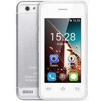 2017 הקטן ביותר אנדרואיד טלפון 3 גרם WIFI Ultra slim מיני נייד. טלפון MTK6572 ליבה כפולה טלפונים סלולריים לילדים לילדים מלרוז S9