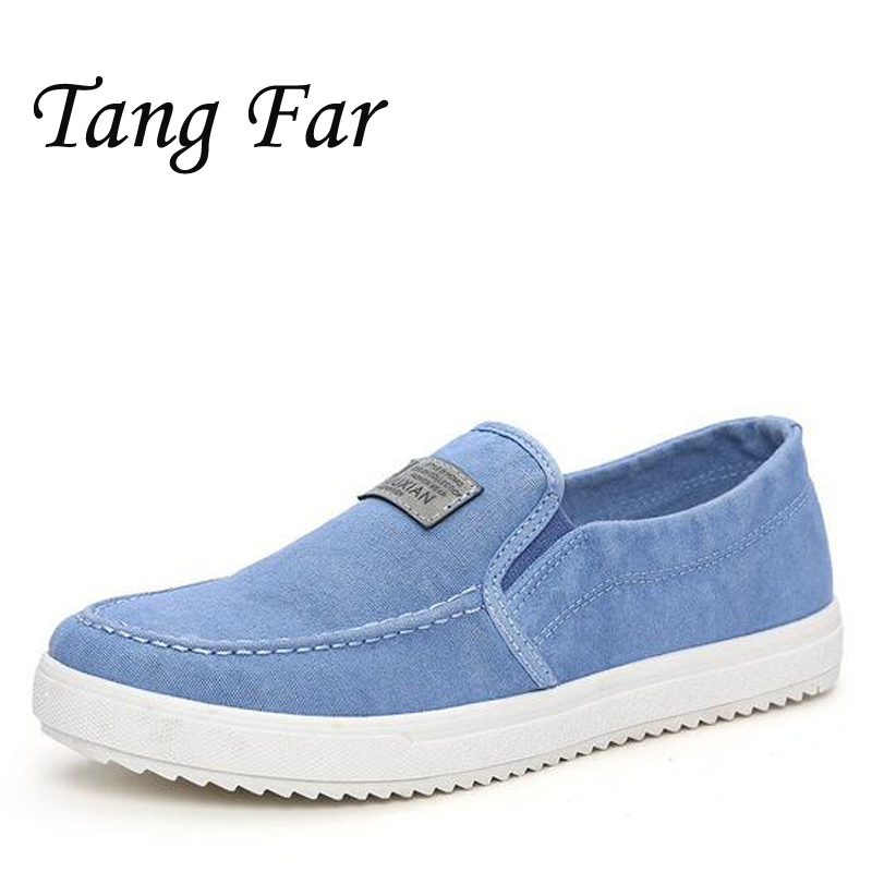 Four Seasons Youth Fisherman Canvas Shoes Men Casual Shoes Outdoor Light Breathable Flats Loafer Men Zapatos De Hombre