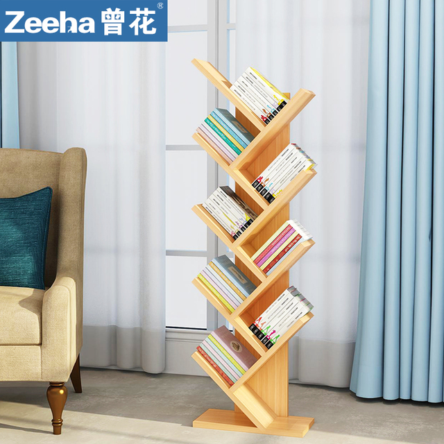 Creative Bookshelf Tree Type Multifunctional Bookshelf