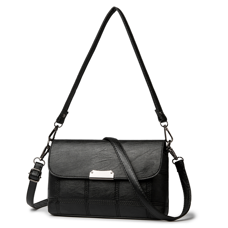 QINRANGUIO Women Messenger Bags Casual Crossbody Bags for Women 2018 Shoulder Bag Women High Quality Soft PU Leather Women Bag все цены