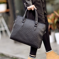 Tidog The new male cross braided bag handbag Briefcase Bag