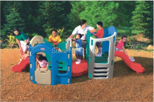 Backyard Play Structure plastic play house,backyard play system,backyard slide,park play