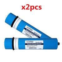 2PCS 400 gpd reverse osmosis filter Reverse Osmosis Membrane ULP3013 400 Membrane Water Filters Cartridges ro system Filter Memb