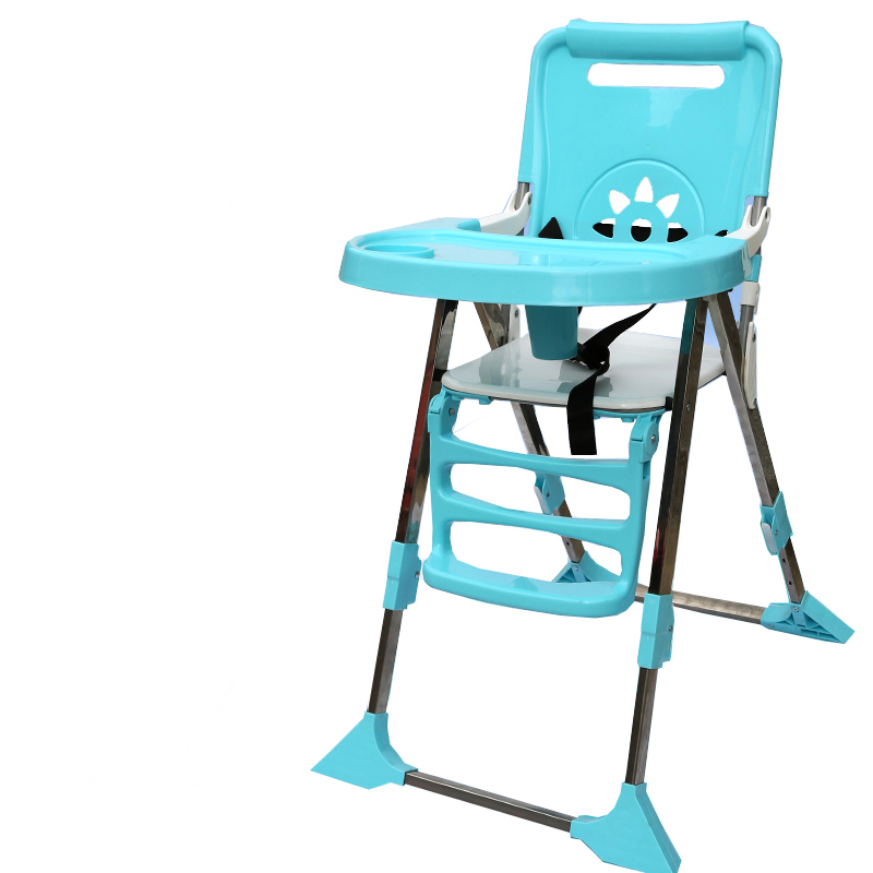 Protable Baby High Feeding Chair Booster Seat Multi-function Foldable Adjustable Kids Dining Table Chair Seating baby highchair foldable high chair for kids adjustable feeding chair with pu leather cushion dining table with wheels