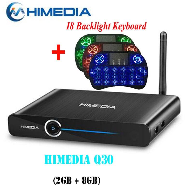Himedia Q30 UltraHD Smart Android 7.1 TV Box 3D 4K 2G 8G USB 3.0 KODI 17.1 Network Media Player PK Mi Box 3 X96 Mini H96 Pro X92 2018 lastest himedia h8 pro 2gb 16gb octa core uhd smart android tv box wifi 3d 4k media player pk mi box 3 x96 mini h96 pro x92