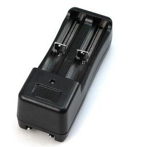 Image 5 - 범용 듀얼 배터리 충전기 18650 14500 16340 26650 충전식 리튬 이온 배터리 충전기 eu/us