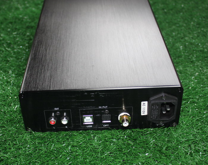 AC220V AK4495SEQ + AK4118 + NE5534 DAC Decoder Fiber optic / coaxial / USB input ,Support DOP DSD